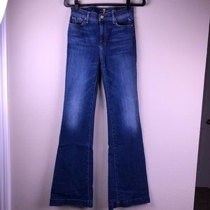 7FAM Dojo Medium Wash Flare Jeans 27